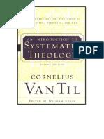 Una Introduccion a La Teologia - Cornelius Van Til