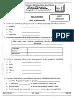 Sustantivos Practica - 6to Primaria
