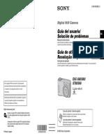Sony Cybershot DSC S90 Manual