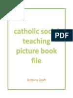 catholic social teaching binder