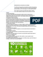 Mandamientos Del Desarrollo Sostenible
