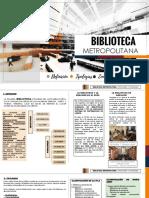 Expo Biblioteca Tipologías y Programa