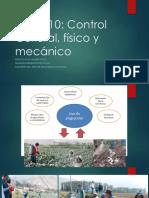 Control cultural de plagas agricolas