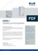 Data Sheet Mobile Communication GPRS 1