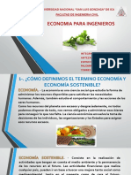 Economia Para Ingenieros 1er Trabajo Grupal