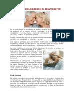 Cambios Fisiológicos en El Adulto Mayor