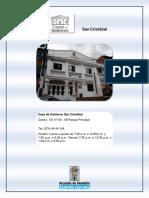 Casa de Gobierno San Cristobal