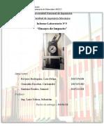 Informe Laboratorio de Ingeniería Mecánica Ensayo de Impacto