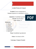 Conta Agroindustrial Informe