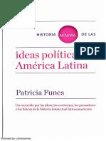 Patricia Funes - Historia Minima de Las Ideas Politicas en América Latina