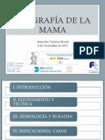 Ecografía de La Mama Diapositivas