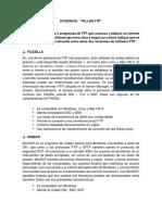 Evidencia Taller Ftp