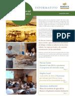 Monitoreo Social Ambiental Agosto 2015