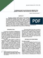 Determinación de Los LMR Permisibles de Pesticidas