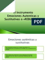 6 Instrumento Emociones Autenticas y Sustitutivas