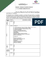 Temario Pruebas 1° semestre  3 BASICO