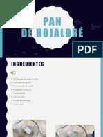 Proceso de Receta de Pan de Hojaldré