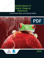 Potential Impacts of Climate Change on Biodiversity in America Central, Mexico and the Dominican Republic