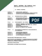 Reglamento Interno Del Consejo Regional_2013