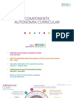 Componente de La Autonomia Curricular