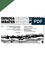 Estado e Urbano no Brasil_Espaço & Debate