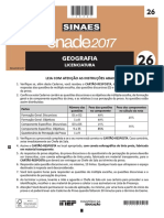 26 Geografia Licenciatura Baixa