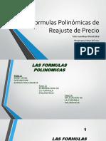 Clase -Formulas Polinómicas de Reajuste de Precio