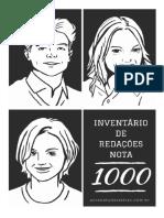 Inventário de Redações Nota 1000