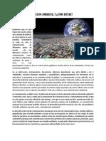 Articulo Contaminacion Ambiental