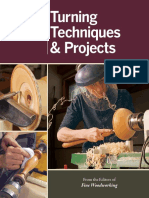 Fine Woodworking Turning Techniques & Projects.pdf