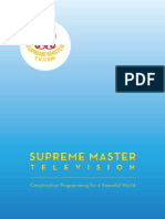 Supreme Master TV Brochure - English (Sept 15, 2010)