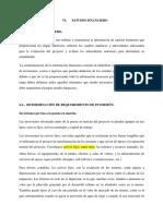 6. ESTUDIO FINANCIERO