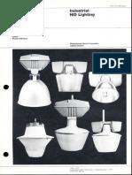 Westinghouse Lighting Price List Industrial HID Lighting 6-79