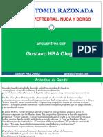 2º (2018) Encuentro (Dr Otegui) Anatomía Razonada, Columna Vertebral, Nuca y Dorso