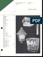Westinghouse Lighting Price List Outdoor Lighting 10-73
