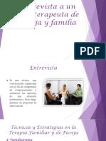 Entrevista a Un Psicoterapeuta de Pareja y Familia
