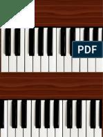 Piano Table Design