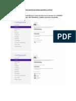 Ejercicio Práctico de Sistemas Operativos e Internet