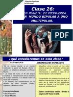 HU 26 Orden Mundial de Postguerra