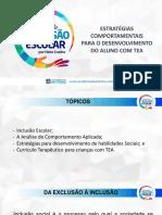 Analise Do Comportamento Aplicada a Educacao Atualizado