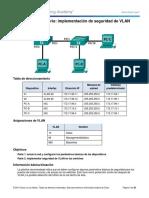 3.3.2.2 Lab - Implementing VLAN Security-DIANA PALACIOS