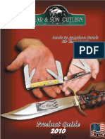 BEAR & SON 2010 Catalog