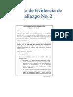 Modelo de Evidencias Hallazgo No 2-1528767816