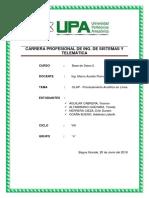 Informe Completo Olap