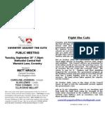 Cov TUC Leaflet A5 No Boxes