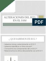 Alteraciones Del Ecg en El Iam