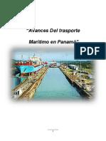 Avances Del Transporte Maritimo en Panama