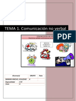 Tema 1. Comunicacion No Verbal
