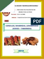 Informe Cereales - Sorgo y Tamarindo