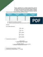 Regresion Simple - Informe